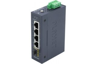 PLANET IGS-510TF Switch Indust. 4p Gigabit & 1 SFP 100/1G