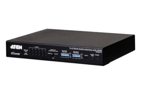 ATEN PREMIUM VE66DTH Interface audio Dante 6 x 6 avec HDMI