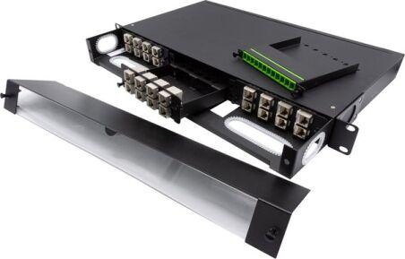 Cassette à équiper - 8 ports keystone pour panneau modulaire 258171