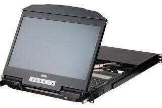 ATEN Premium CL3884NW CONSOLE LCD 4 ports HDMI/USB Dual rail