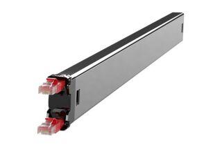 PATCHBOX 1 Cordon (cassette) CAT6 U/FTP Rouge 1,7 m pour PATCHBOX PLUS+