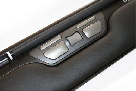 Souris centrale ErgoSlider Plus USB noire