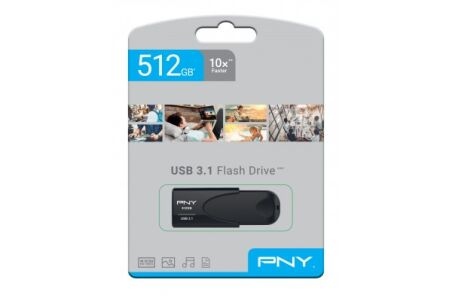 PNY Clé USB Attaché 4 3.1 512 Go