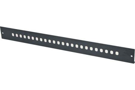 Façade nue 24 ST/FC pour tiroir optique 1U