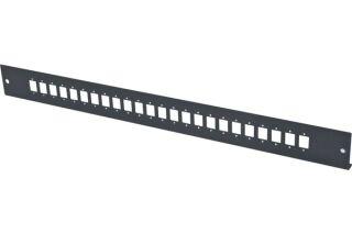 Façade nue 24 LC Duplex / SC Simplex pour tiroir optique 1U