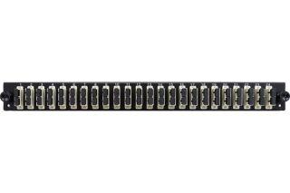 Façade équipée 24 SC UPC MM Duplex pour tiroir optique 1U
