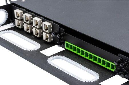 Panneau plein obturateur 0,5U pour panneau modulaire 258171