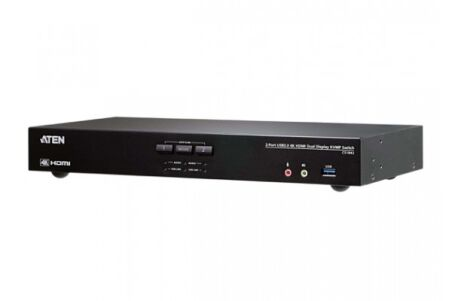 ATEN CS1842 KVM Double ecran HDMI 4K/USB 3.0 2 Ports + audio