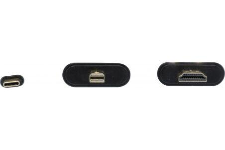 Convertisseur  Type-C miniDP 1.2 /HDMI 2.0/VGA