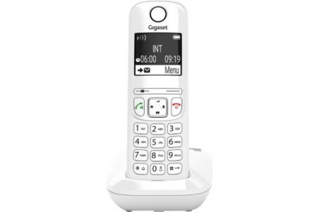 Gigaset AS690 téléphone sans fil DECT blanc - base + combiné