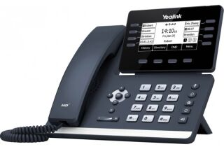 YEALINK T53W Téléphone SIP 12 Cpt. WiFi BlueTooth PoE