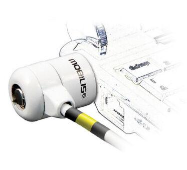 Mobilis Corporate Key - Câble de sécurité - blanc - 1.8 m