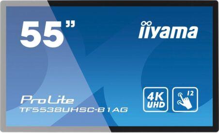 "IIYAMA  afficheur professionnel tactile 55"" TF5538UHSC-B2AG"