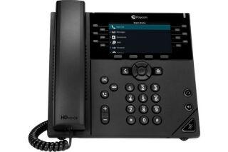 POLY VVX 450 OBi téléphone de bureau IP PoE - 12 lignes SIP