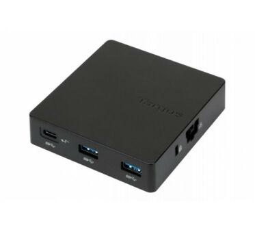 TARGUS Travel Dock with Power Pass-Through - station d'accueil - USB-C / Thunder