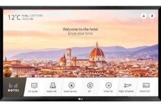 """LG téléviseur professionnel 28"""" 28LT662V Smart HD sans pieds"""