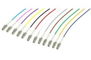 PIGTAIL OM4 LC/UPC LSOH 12 CONNECTEURS 2m