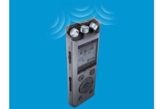 OLYMPUS DM-720 silver (4GB) - incl. Batterie NiMh, Clip station d'accueil