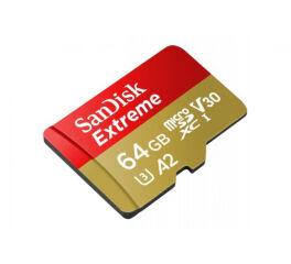 SanDisk Extreme - Carte mémoire flash (adaptateur microSDXC vers SD inclus(e))