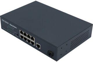 SWITCH 8P 10/100 PoE+ 120W & 1 Gigabit & 1 SFP