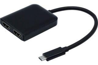 Convertisseur USB typeC HUB MST 2x HDMI 2.0