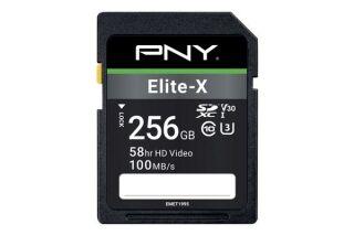 PNY Carte SDXC Elite-X 256 Go
