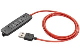 POLY BW3300-M USB-A Cordon télécommande pour BlackWire 5200