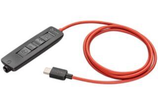 POLY BW3300-M USB-C Cordon télécommande pour BlackWire 5200
