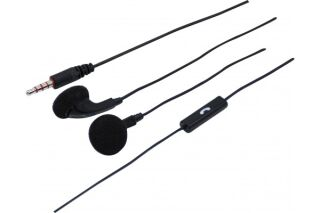 Ecouteurs stéréo avec micro 1er prix Jack 3.5 mm 4 points
