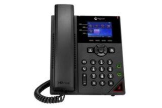 POLY VVX 250 OBI Edition tél.de bureau IP PoE - 4 lignes SIP