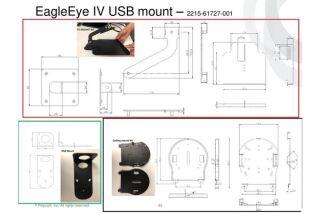 SUPPORTS DE MONTAGE POUR CAMERA EAGLEYE4  USB