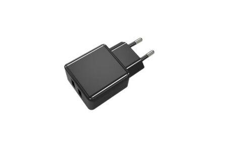CHARGEUR SECTEUR 2 PORTS USB 2,4 A