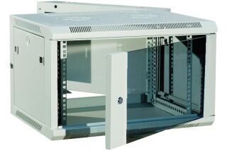 """Coffret WM-60 Double section 19"""" 6U profondeur 550 mm (gris)"""