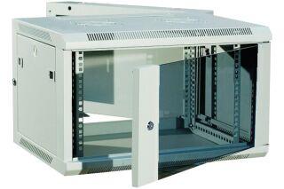 """Coffret WM-60 Double section 19"""" 12U profondeur 550 mm (gris)"""