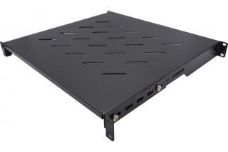 Etagère fixe 550 mm ajustable en profondeur (noir)