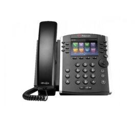 POLY VVX 401 téléphone bureau IP 10/100 PoE - 12 lignes SIP