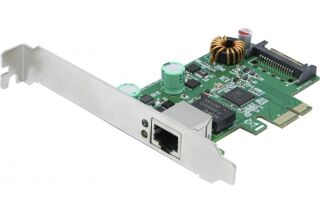 Carte Injecteur PoE+ 40W 2.5 Gigabit STD & Low Prof.
