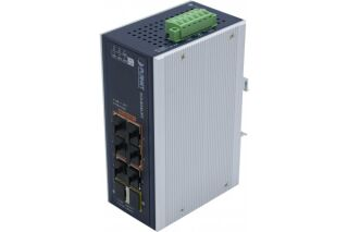 PLANET IGS-824UPT Switch Ind. 6 Giga dont 4 UltraPoE 95W & 2 SFP 100/1G