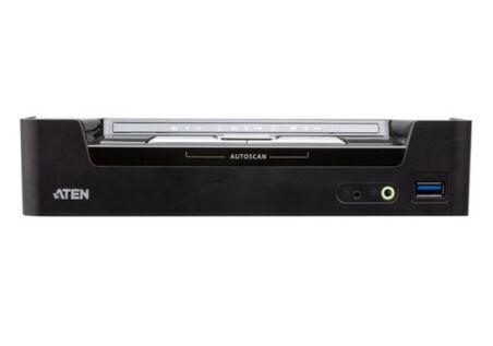 ATEN CS1953 Switch KVM 3 ports 1x DP/USB-C et 2x DP/USB-A