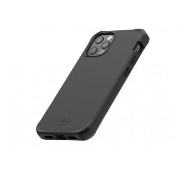 SPECTRUM Case solid black - for iPhone XR - Soft bag