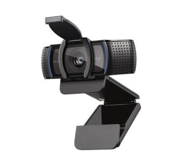 Logitech HD Pro Webcam C920S - Webcam - couleur - 1920 x 1080 - audio - USB