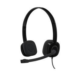 Logitech Stereo H151 - Micro-casque - sur-oreille - filaire