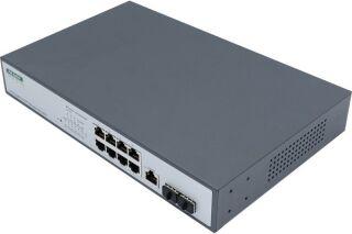Switch Niv.2 8P Gigabit PoE+ 140W & 2 SFP