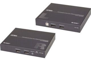 ATEN CE924 KIT DÉPORT Double Écran DisplayP/USB HDBaseT 100M