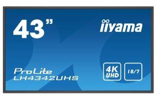 "IIYAMA- Afficheur professionnel 43"" LH4342UHS-B3"