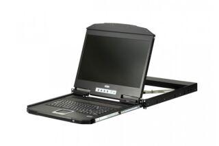 """ATEN CL3700NX CONSOLE LCD 18,5"""" COURTE HDMI 720p/USB"""