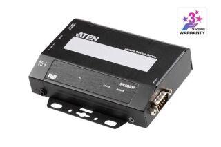ATEN SN3001P serveur RS-232 1x DB9 Sécurisé sur IP PoE