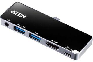 ATEN UH3238 Mini Dock USB-C HDMI Audio 2x USB-A USB-C 92W